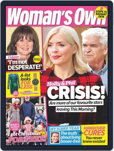 Woman's Own December 21st, 2020 Digital Back Issue Cover