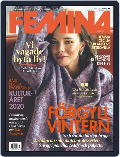 Femina Sweden (Digital) January 1st, 2021 Issue Cover