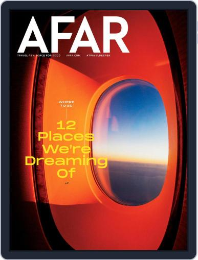 AFAR (Digital) January 1st, 2021 Issue Cover