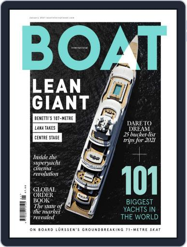 Boat International (Digital) January 1st, 2021 Issue Cover
