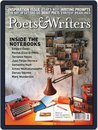 Poets & Writers (Digital) January 1st, 2021 Issue Cover