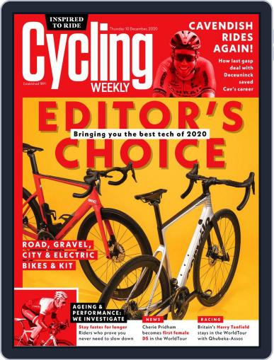 Cycling Weekly December 10th, 2020 Digital Back Issue Cover