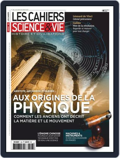 Les Cahiers De Science & Vie (Digital) January 1st, 2021 Issue Cover