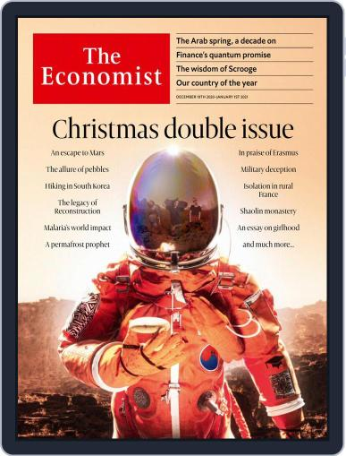 The Economist Asia Edition (Digital) December 19th, 2020 Issue Cover