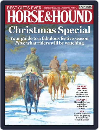 Horse & Hound (Digital) December 17th, 2020 Issue Cover