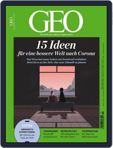 GEO January 1st, 2021 Digital Back Issue Cover