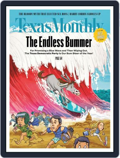 Texas Monthly (Digital) January 1st, 2021 Issue Cover