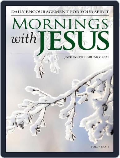 Mornings with Jesus (Digital) January 1st, 2021 Issue Cover