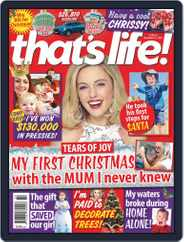 that's life! (Digital) Subscription December 17th, 2020 Issue
