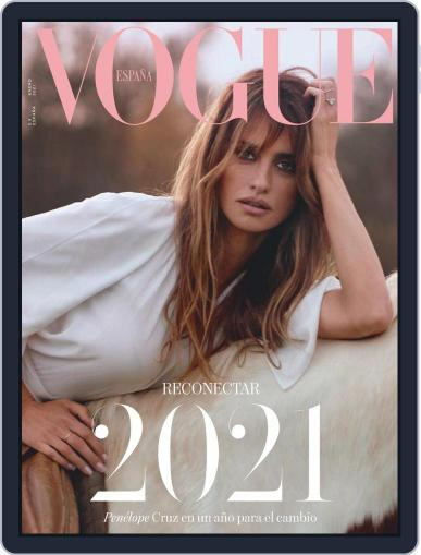 Vogue España January 1st, 2021 Digital Back Issue Cover