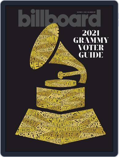 Billboard (Digital) December 12th, 2020 Issue Cover
