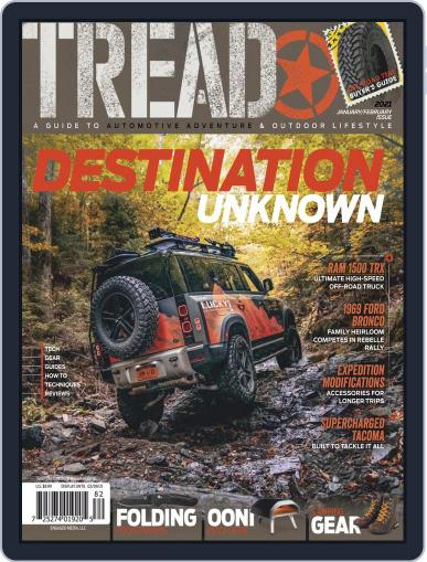 TREAD January 1st, 2021 Digital Back Issue Cover