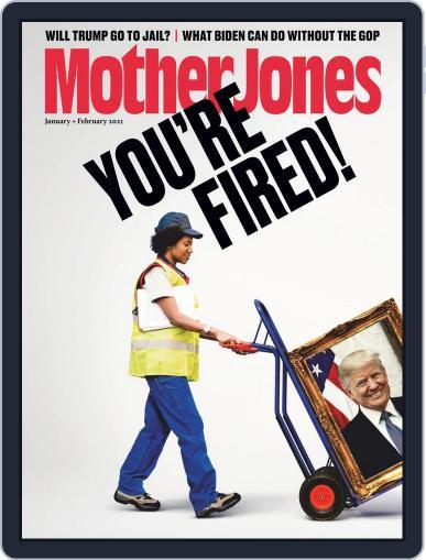 Mother Jones (Digital) January 1st, 2021 Issue Cover