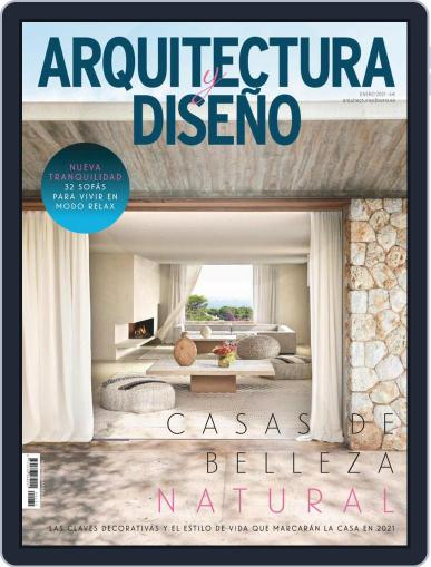 Arquitectura Y Diseño (Digital) January 1st, 2021 Issue Cover