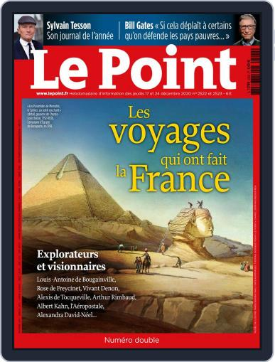 Le Point December 17th, 2020 Digital Back Issue Cover