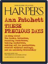 Harper's (Digital) Subscription January 1st, 2021 Issue