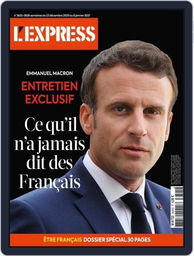 L'express (Digital) December 23rd, 2020 Issue Cover