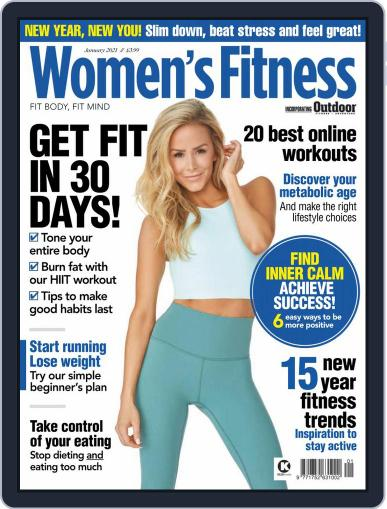 Women´s Fitness January 1st, 2021 Digital Back Issue Cover