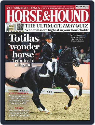 Horse & Hound (Digital) December 24th, 2020 Issue Cover