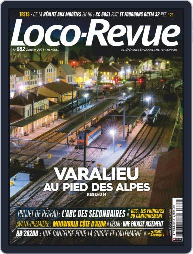 Loco-revue (Digital) January 1st, 2021 Issue Cover