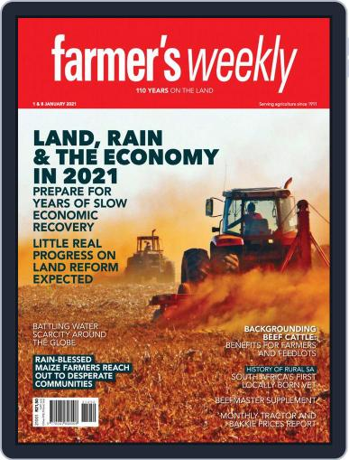 Farmer's Weekly January 1st, 2021 Digital Back Issue Cover