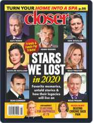 Closer Weekly (Digital) Subscription January 4th, 2021 Issue