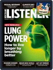 New Zealand Listener (Digital) Subscription January 1st, 2021 Issue