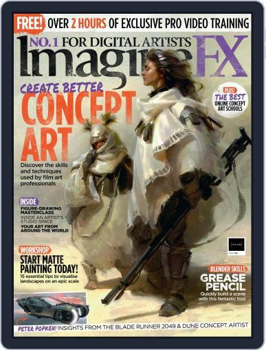 ImagineFX February 1st, 2021 Digital Back Issue Cover