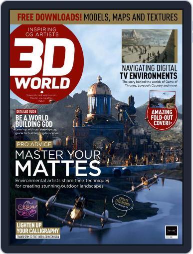 3D World February 1st, 2021 Digital Back Issue Cover