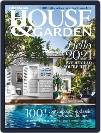 Australian House & Garden January 1st, 2021 Digital Back Issue Cover