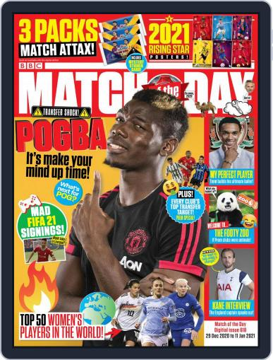 Match Of The Day (Digital) December 29th, 2020 Issue Cover