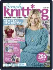 Simply Knitting (Digital) Subscription February 1st, 2021 Issue