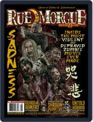 RUE MORGUE Magazine (Digital) Subscription July 1st, 2021 Issue