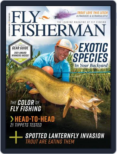 Fly Fisherman February 1st, 2021 Digital Back Issue Cover