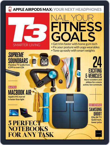 T3 (Digital) January 1st, 2021 Issue Cover