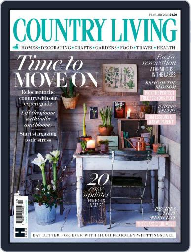 Country Living UK February 1st, 2021 Digital Back Issue Cover