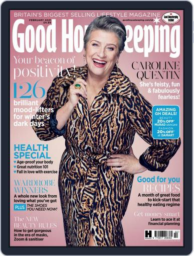 Good Housekeeping UK February 1st, 2021 Digital Back Issue Cover