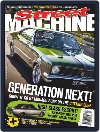 Street Machine January 1st, 2021 Digital Back Issue Cover