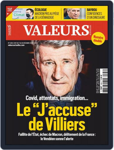 Valeurs Actuelles (Digital) December 17th, 2020 Issue Cover