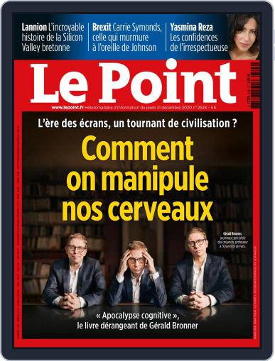 Le Point (Digital) December 31st, 2020 Issue Cover