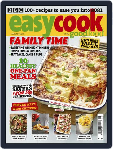 BBC Easycook January 1st, 2021 Digital Back Issue Cover