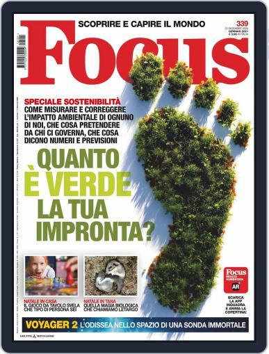 Focus Italia (Digital) January 1st, 2021 Issue Cover