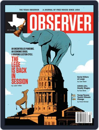 The Texas Observer (Digital) January 1st, 2021 Issue Cover