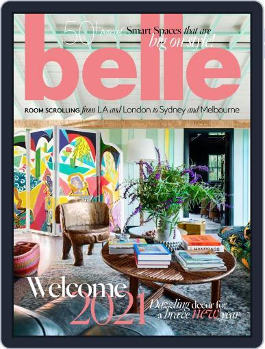 Belle February 1st, 2021 Digital Back Issue Cover