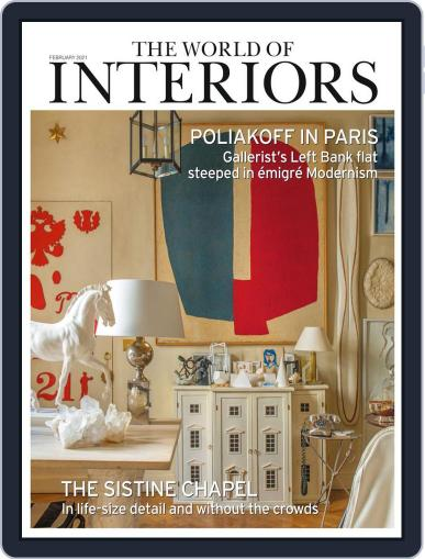 The World of Interiors February 1st, 2021 Digital Back Issue Cover