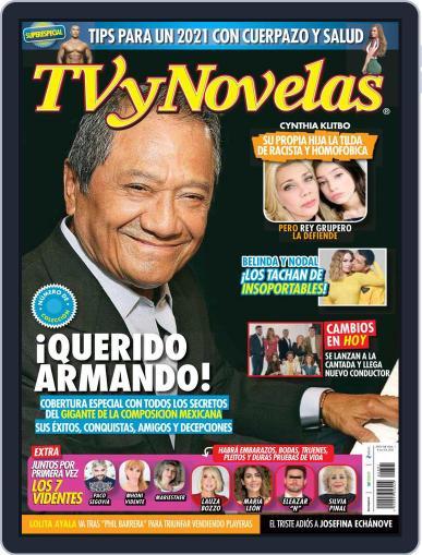 TV y Novelas México (Digital) January 4th, 2021 Issue Cover