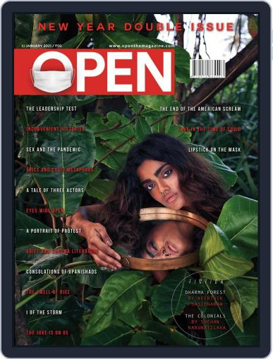 Open India January 1st, 2021 Digital Back Issue Cover