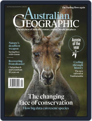 Australian Geographic January 1st, 2021 Digital Back Issue Cover
