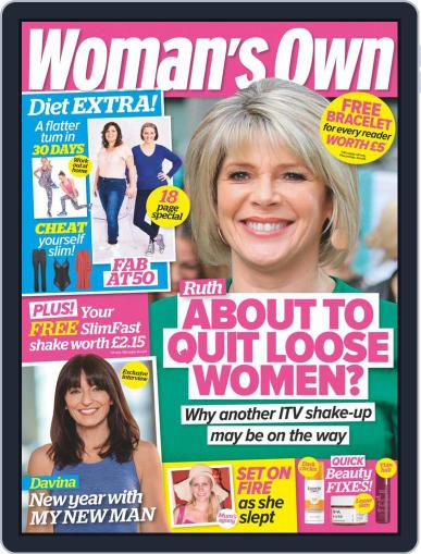 Woman's Own January 11th, 2021 Digital Back Issue Cover