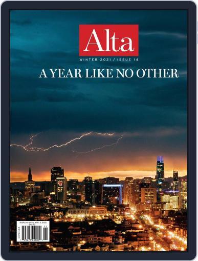 Journal of Alta California (Digital) December 1st, 2020 Issue Cover